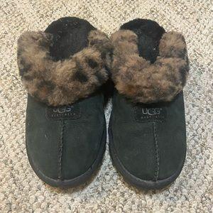 Ugg slippers - cheetah fur
